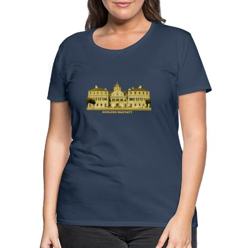 Rastatt Schloss Residenz Barock Baden-Baden - Frauen Premium T-Shirt