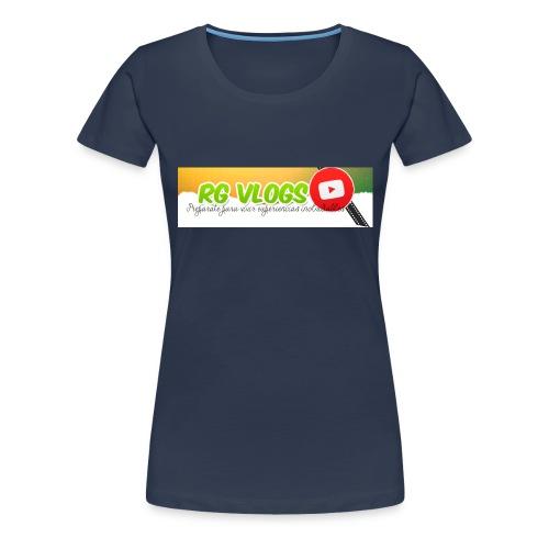 DISEÑO RG VLOGS - Camiseta premium mujer