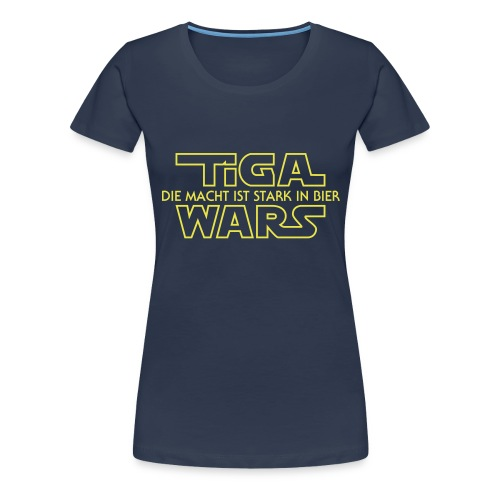 Vorne Einsendung Spreadsh - Frauen Premium T-Shirt