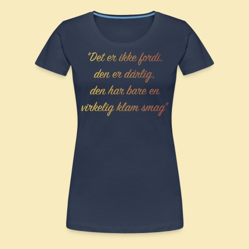 Citat afsnit 5 - Dame premium T-shirt