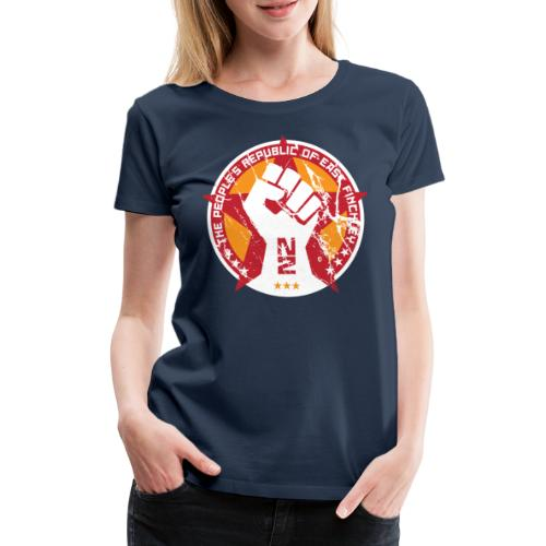 The people's republic of East Finchley - Women's Premium T-Shirt