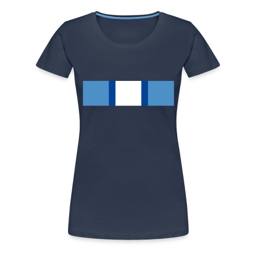 Medal Unficyp jpg - Frauen Premium T-Shirt