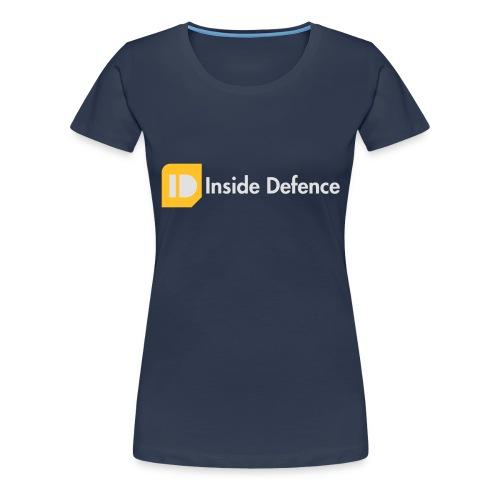 Logo_CMYK_orange_whitetex - Vrouwen Premium T-shirt