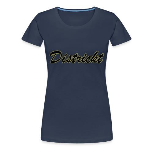 Districkt Brand Name Design - Women's Premium T-Shirt