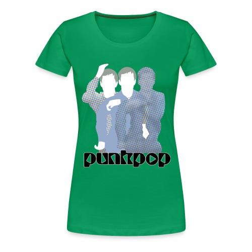 JD Post Punk PunkPop - Maglietta Premium da donna