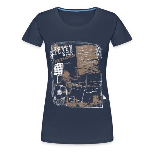 Spieltag - Frauen Premium T-Shirt
