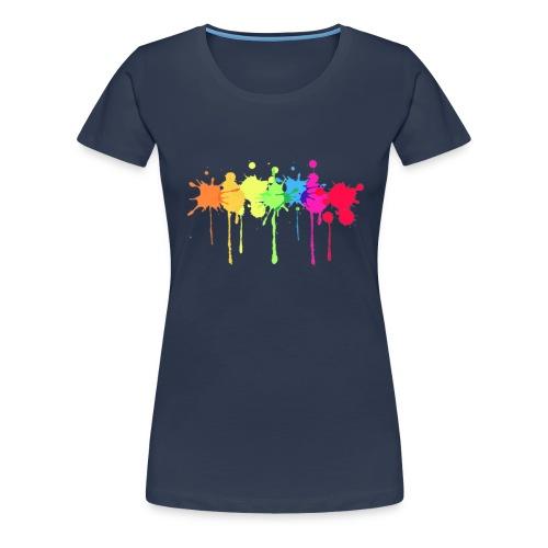 Colores colors - Camiseta premium mujer