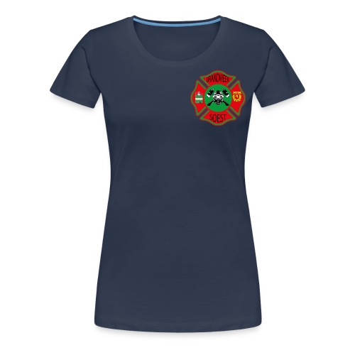 Patch Brandweer Soest - Vrouwen Premium T-shirt