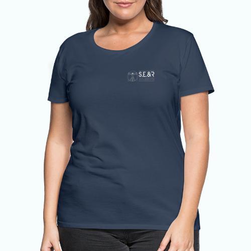 logo C Blanc2 - T-shirt Premium Femme