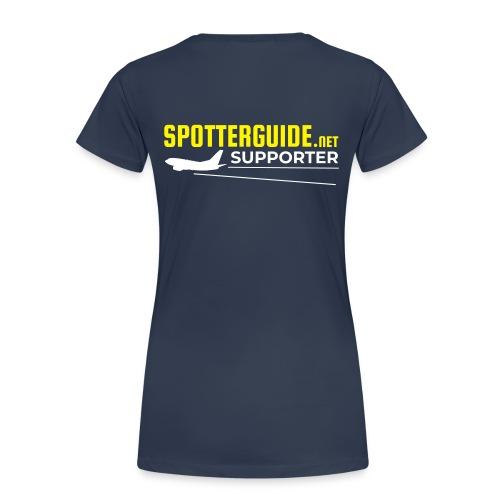 Spotterguide.net Supporter - Naisten premium t-paita