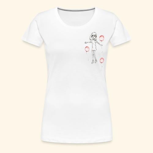 20180925 Baloon2 - Premium-T-shirt dam