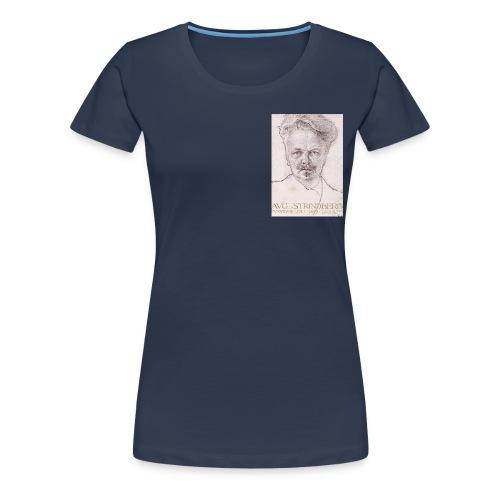 August Strindberg - Premium-T-shirt dam