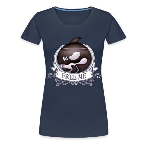 Free me - T-shirt Premium Femme