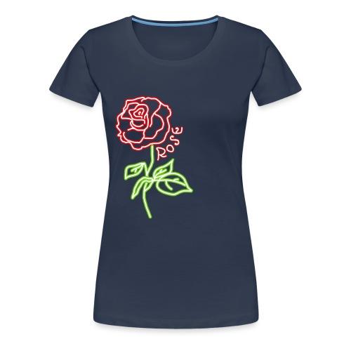 Rosa NEON - Women's Premium T-Shirt