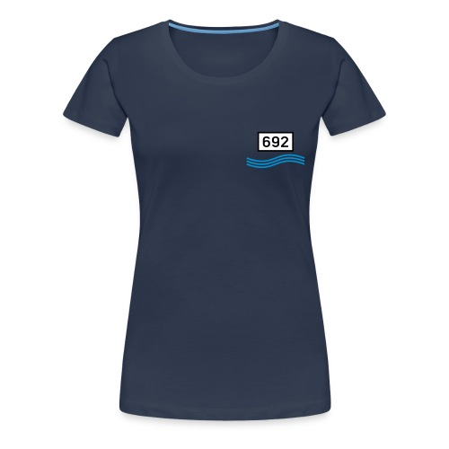 rheinkilometer692b - Frauen Premium T-Shirt