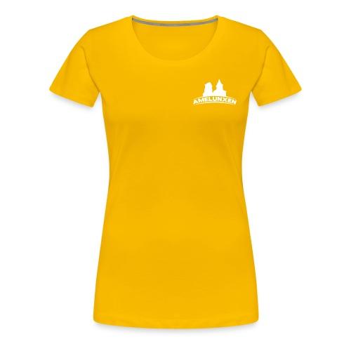 kirchen simpel mit amelunxen - Frauen Premium T-Shirt