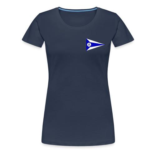 Offiziell vorne und hinten - Frauen Premium T-Shirt