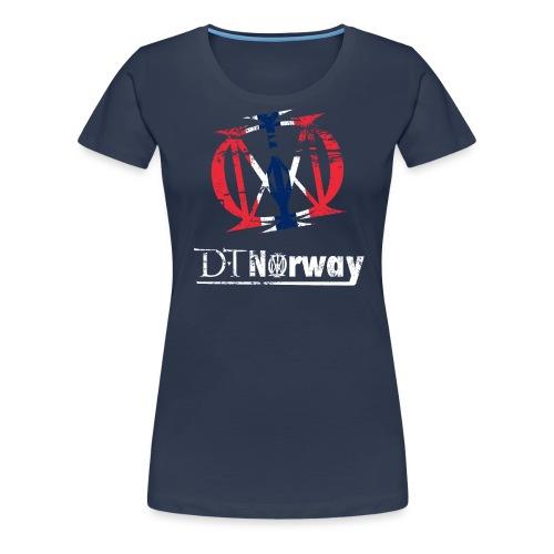 dtnorway t 1 - Premium T-skjorte for kvinner