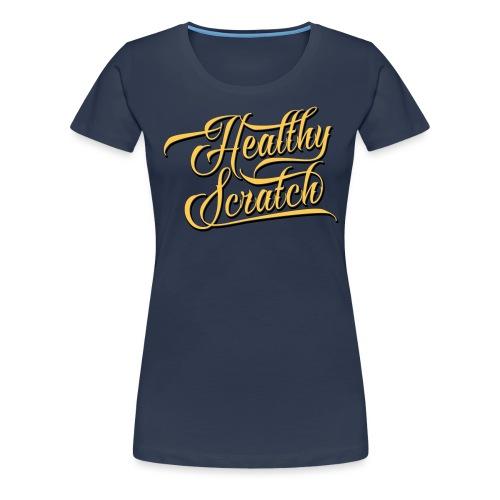 healthy_scratch_vectorize - Women's Premium T-Shirt