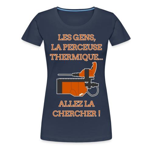 SpreadShirtFront png - T-shirt Premium Femme