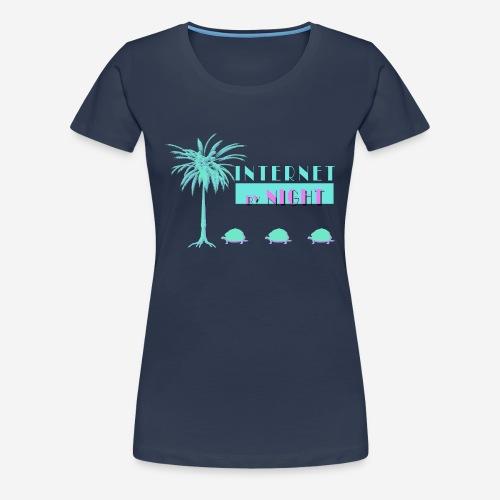 Internet by Night Turtles - Women's Premium T-Shirt