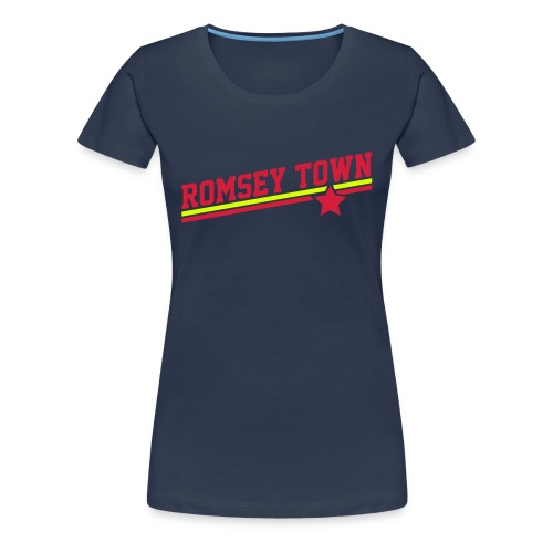 Romsey Town Star - Women's Premium T-Shirt