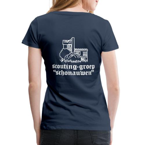 Schonauwen zomeruniform - Vrouwen Premium T-shirt