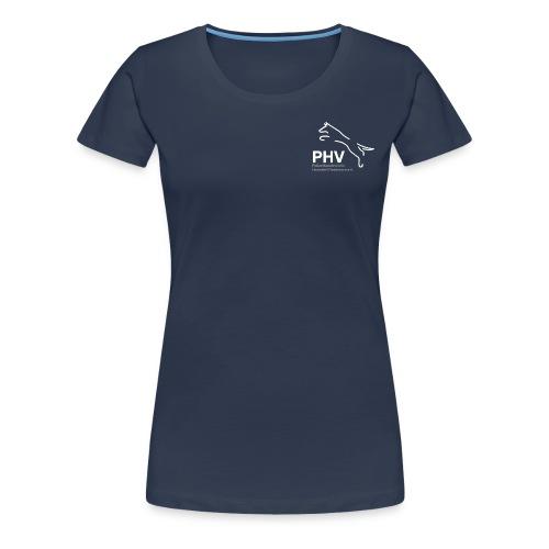 Logo PHV final weiss png - Frauen Premium T-Shirt