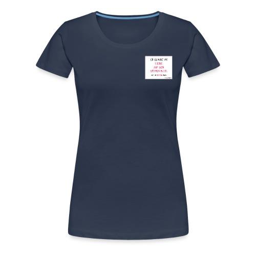 Liebe auf den 1. Blick - Frauen Premium T-Shirt