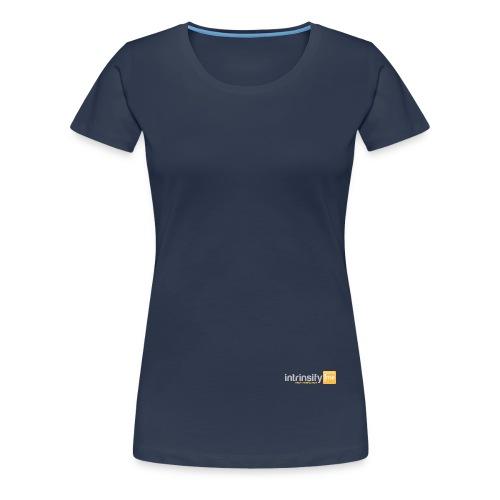intrinsify Logo RGB hell freigestellt png - Frauen Premium T-Shirt