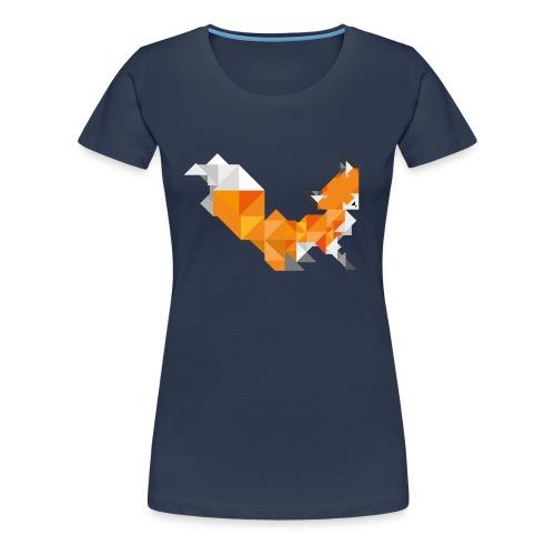 Foxy Triangle - Frauen Premium T-Shirt