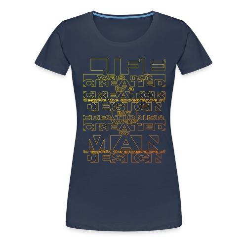 CREATIONISM was CREATED - Women's Premium T-Shirt