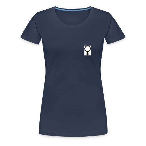 venussymbol - Premium T-skjorte for kvinner