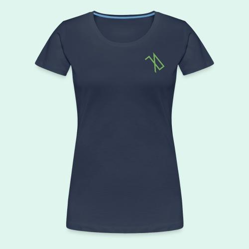 R A B A L E. decide / logo écolo. - T-shirt Premium Femme