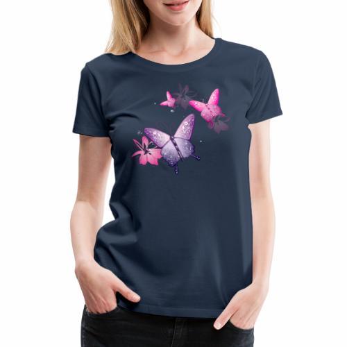Farfalle Butterflies Multicolor - Maglietta Premium da donna
