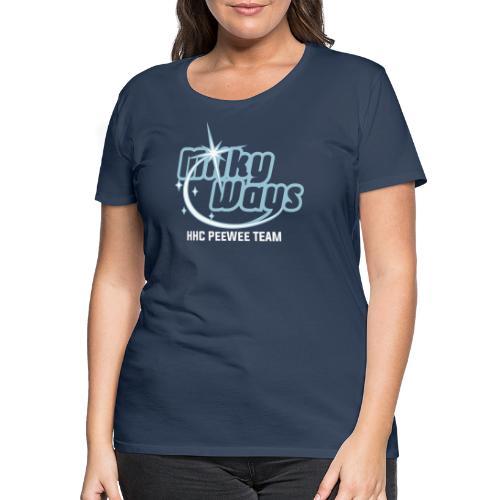 MilkyWays - Frauen Premium T-Shirt