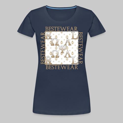 #Bestewear - Royal Line RR - Frauen Premium T-Shirt