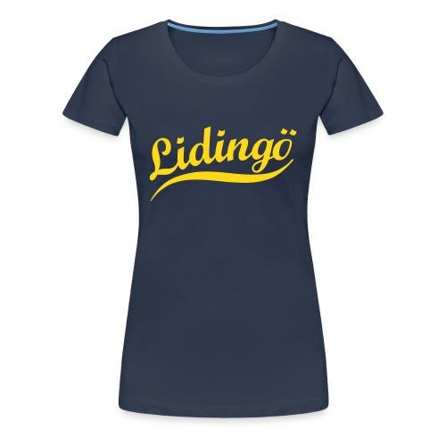 lidingoe swing - Premium-T-shirt dam