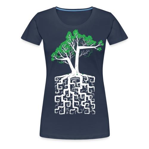 Square Root - Women's Premium T-Shirt