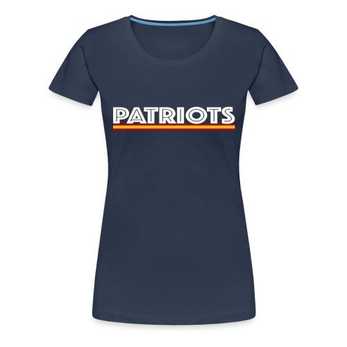 patriots esp 02 blanco - Camiseta premium mujer