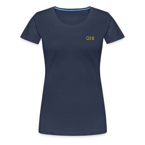 Logo Ghemba oro - Maglietta Premium da donna