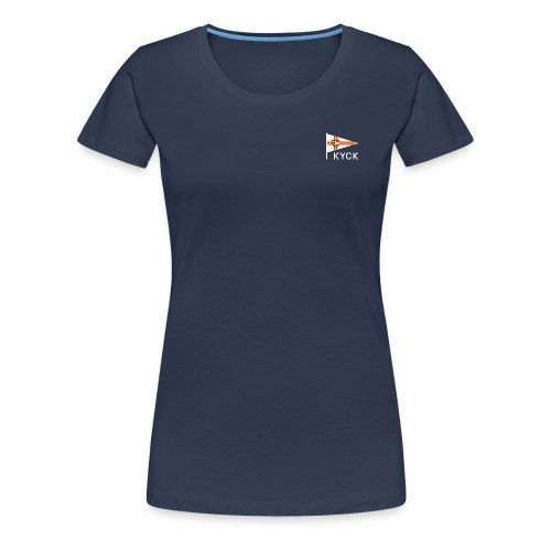 KYCK - classic navy - Frauen Premium T-Shirt