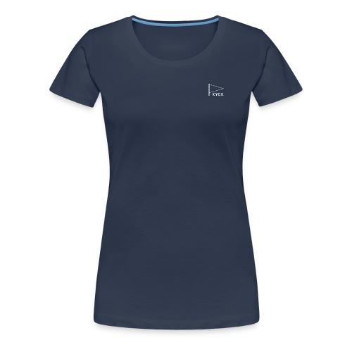 KYCK - element navy - Frauen Premium T-Shirt