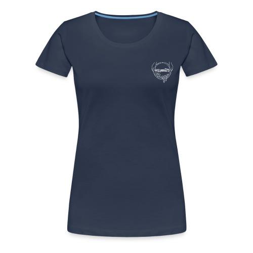 Logo mit Händen - Frauen Premium T-Shirt