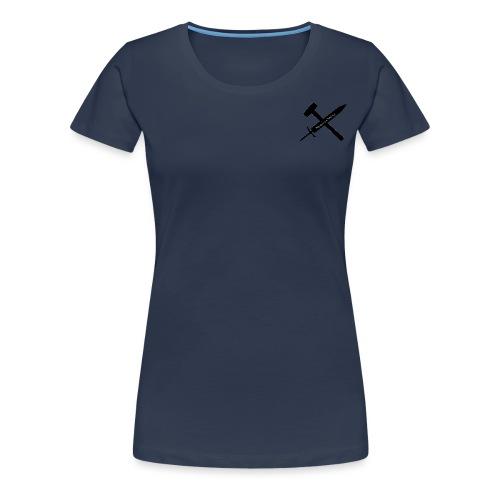 SwordSledgehammer - Premium-T-shirt dam