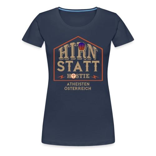 Hirn statt Hostie - Frauen Premium T-Shirt