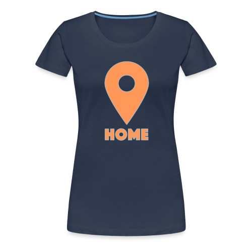 Home Button - Frauen Premium T-Shirt