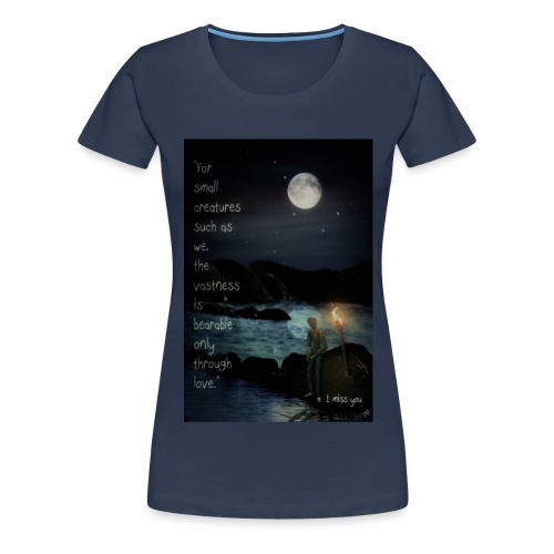 I miss you - Women's Premium T-Shirt
