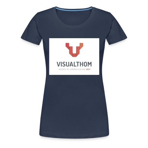 logo-visualthom - T-shirt Premium Femme