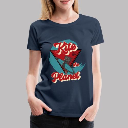 ktp salty sisters surf - Frauen Premium T-Shirt